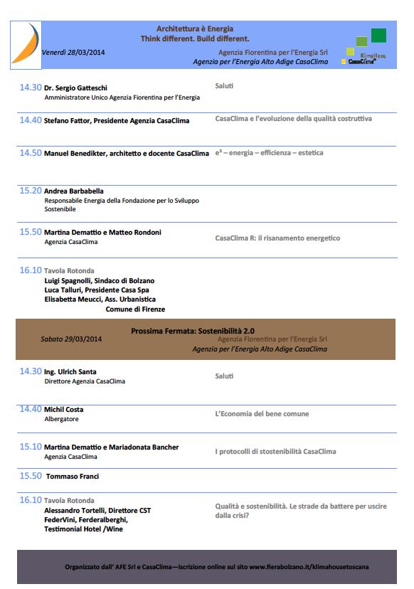 Casaclima a Klimahouse Toscana