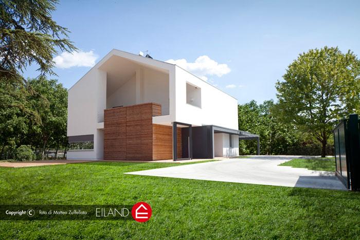 Eiland case ed edifici in legno bioclimatici su misura - Casa in legno su lastrico solare ...