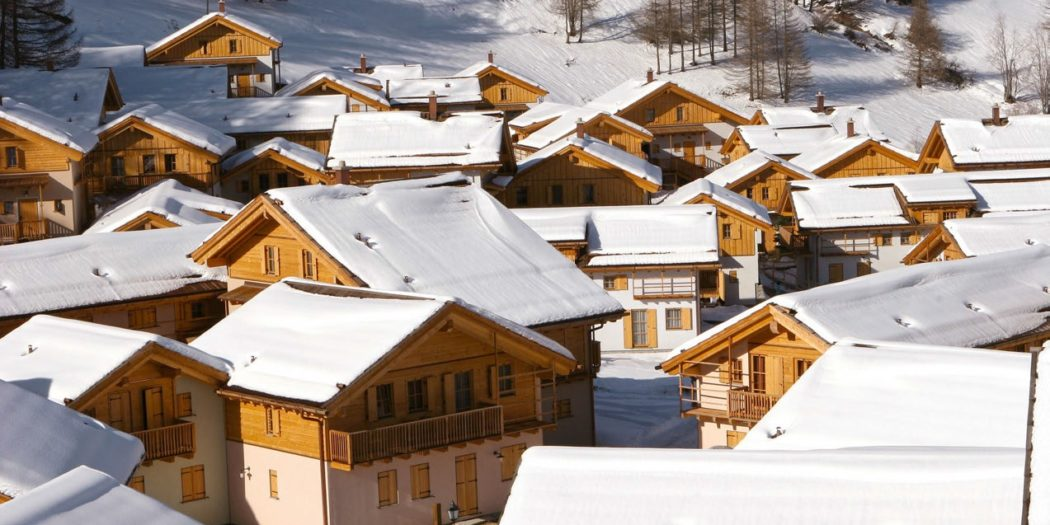 Villaggio alpino bioarchitettura