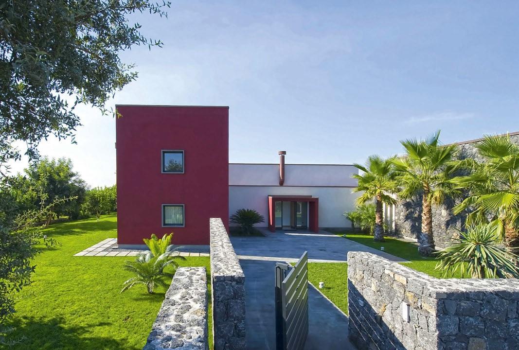 Progetto e paesaggio in simbiosi casa naturale - Progetto casa campagna ...