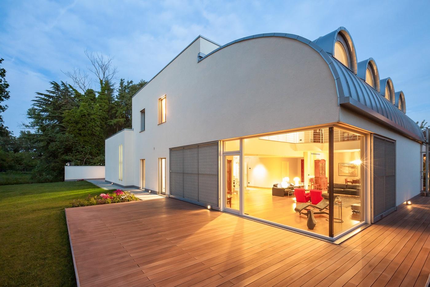 Casa barbieri il legno come soluzione casa naturale - Soluzione umidita casa ...