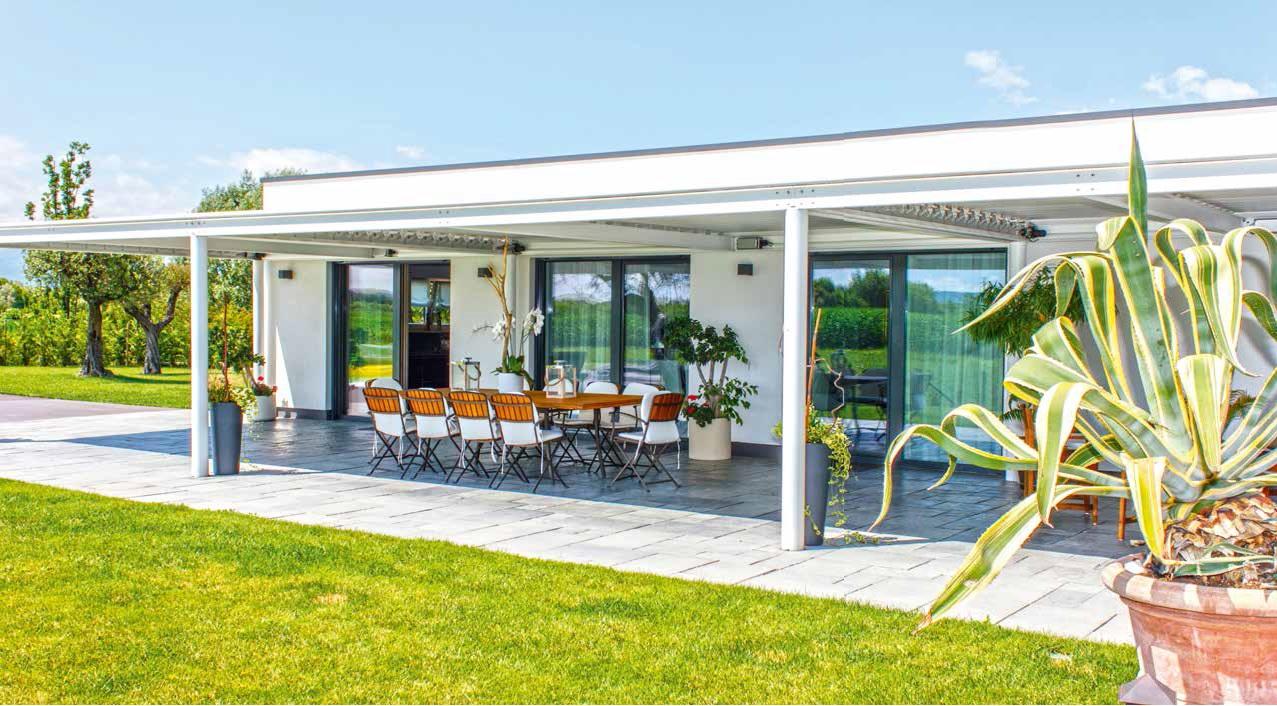 Candore in verde casa naturale for Case in legno griffner