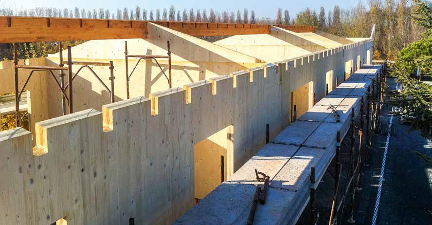 Casa in legno x lam e sistema telaio casa naturale for Case legno xlam