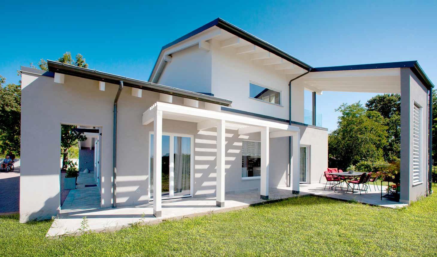 Casa in mezzo alla natura e senza barriere casa naturale - Casa autosufficiente ecologica ...