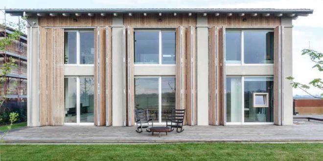 Il fienile lesionato diventa casa moderna casa naturale for Fienile casa piani casa