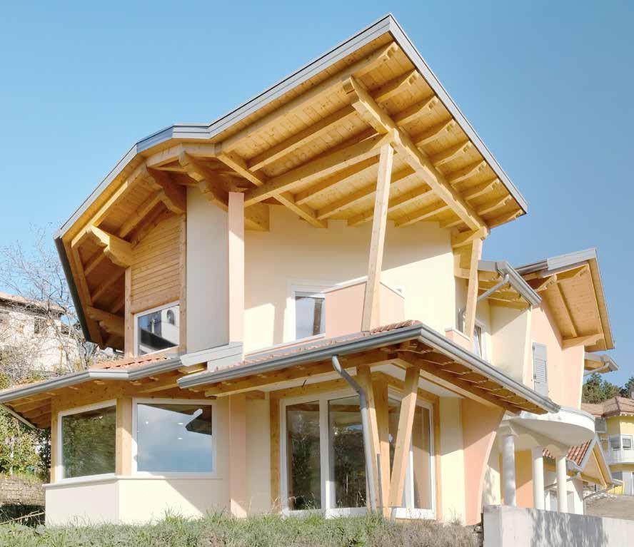 Casa in legno antisismica e ad alte prestazioni casa for Casa legno antisismica costo