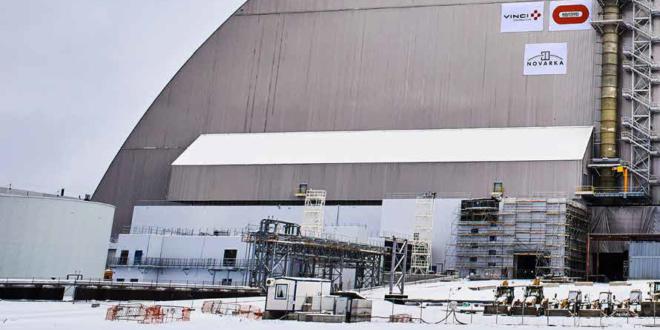 cupola chernobyl