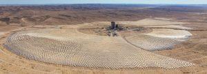 centrale solare deserto israele