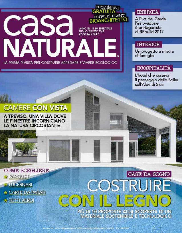 copertina Casa Naturale | Costruire con il legno