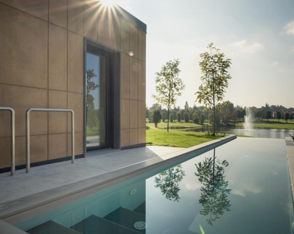 Casa in franciacorta la natura entra in casa casa naturale - Migliore esposizione casa ...