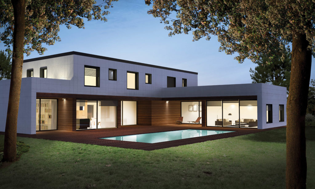 Case prefabbricate il meglio del legno e del cemento for Foto di case