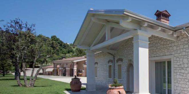 casa legno e pietra