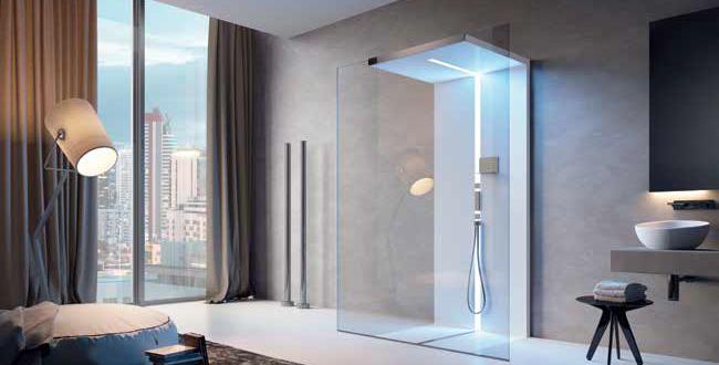 doccia moderna di design