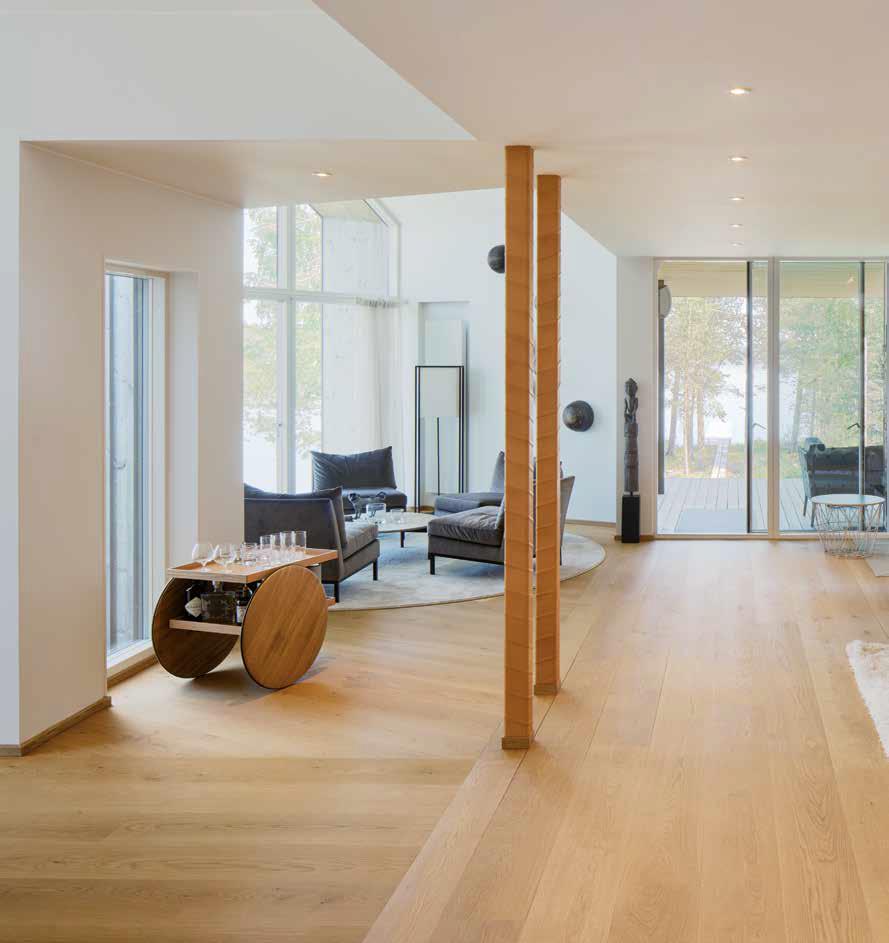 immersi nella luce | open space edificio in legno