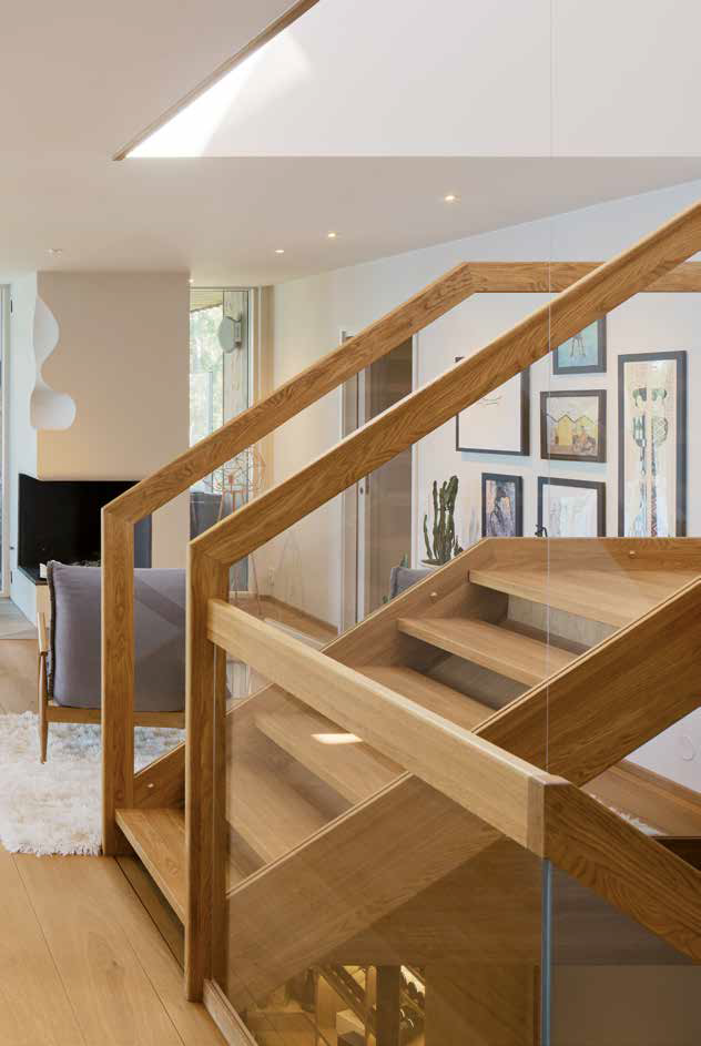 scale in legno | iterni living edificio in legno