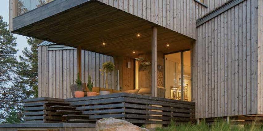 edificio in legno | immersi nella luce