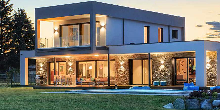 villa prefabbricata Biohaus