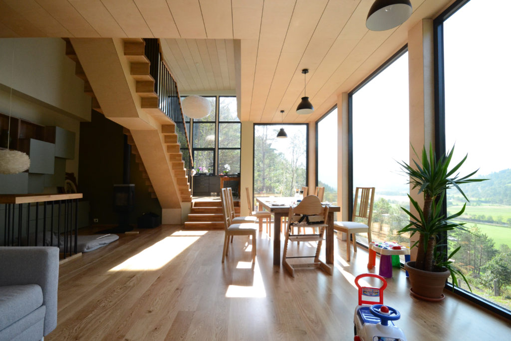 Luce del nord: in Norvegia una casa di legno e vetro ...