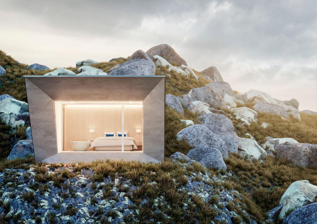 case di montagna in pietra sostenibili