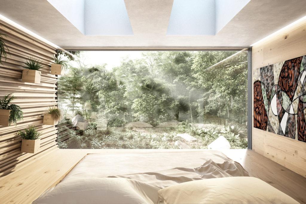 case futuribili in legno sostenibili