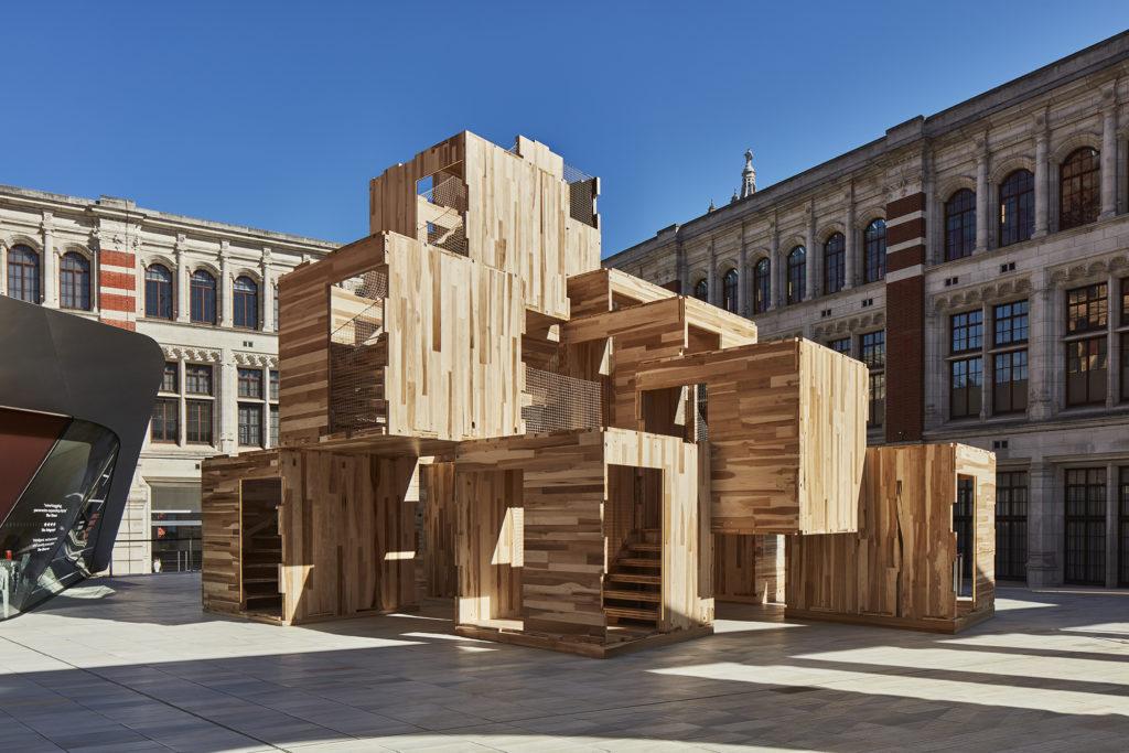 progetto di case in legno sostenibili