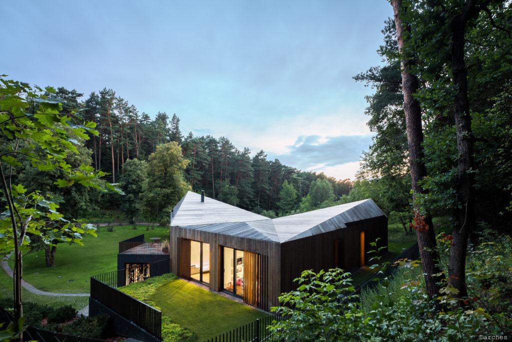 Casa in legno sostenibile e rispettosa dell'ambiente | Isola Ursa