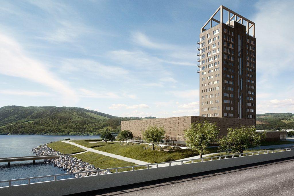 Mjøsa Tower | grattacielo in legno