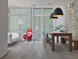casa nordica | bazzan | living | semplicità