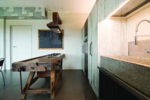 cucina industrial | materiali riutilizzati ! antico e moderno | Rachele Biancalani
