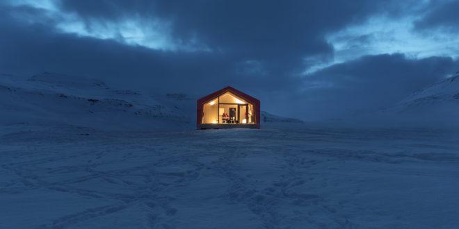 Ariston comfort zone | casa in legno tra i ghiacci