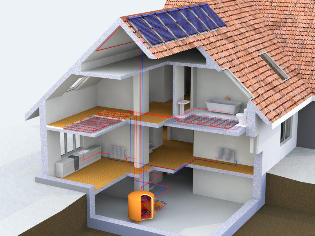 sistemi radianti | struttura di una casa | efficienza energetica e risparmio