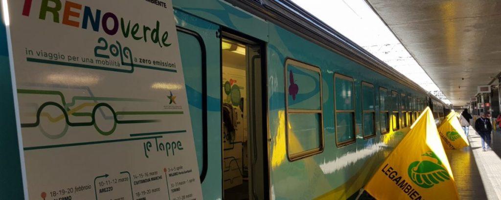 Treno Verde 2019 di Legambiente | educazione contro l'inquinamento