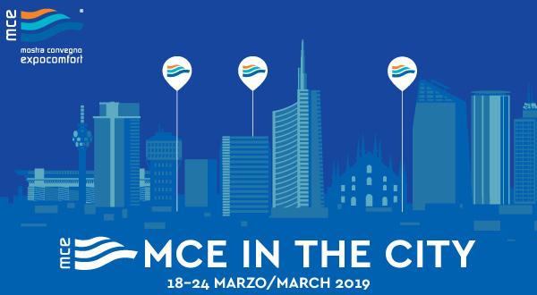 MCE in the City 2019 a Milano dal 18 al 24 marzo
