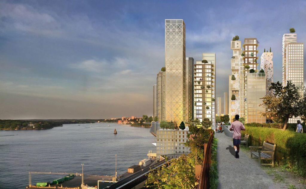 Avanguardia | In Svezia| la città sulla città | sostenibilità ed efficienza |