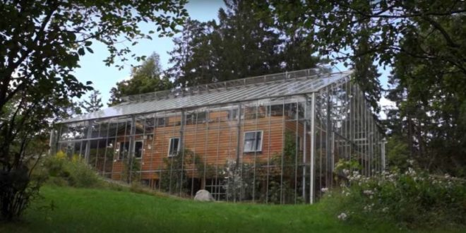 Nature House Svezia |una casa nella serra | efficienza energetica