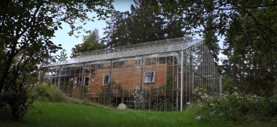 Nature House Svezia |una casa nella serra | efficienza energetica