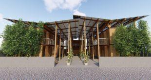 Cubo | case in bambù | comunità | Manila | sostenibilità