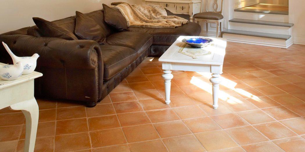 prodotto | produzioni | pavimenti in cotto | soggiorno | colori caldi