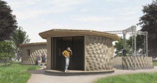 Gaia | Casa stampata in 3d | scarti del riso