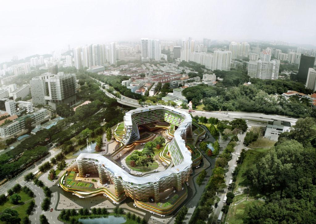 Fattoria urbana e casa di riposo, Singapore