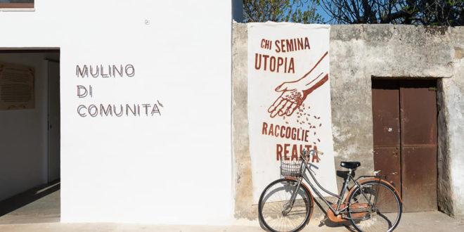 mulino di comunità in Puglia