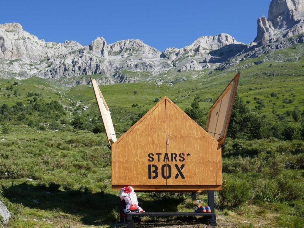 Starsbox, casette in legno per guardare le stelle