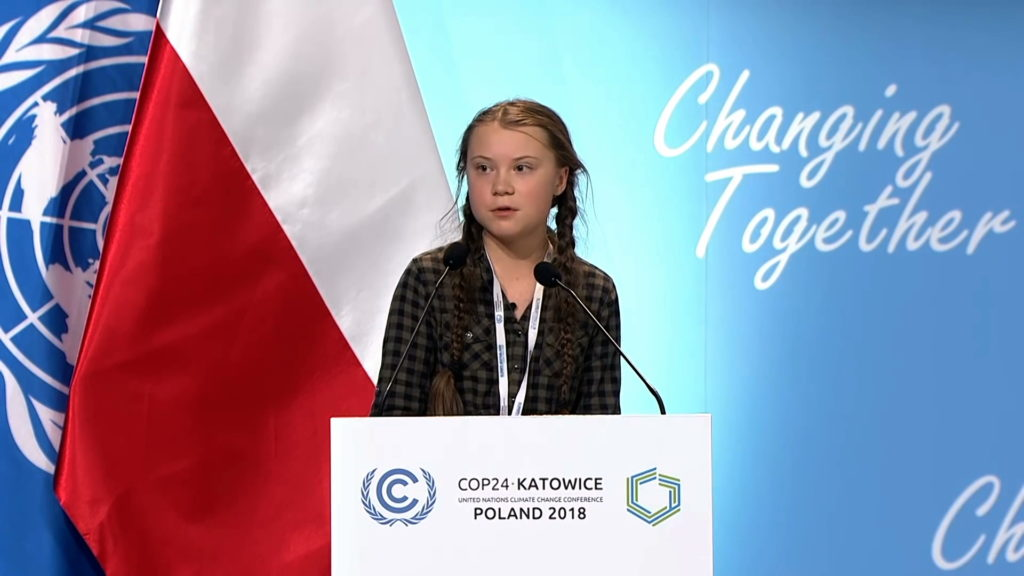 CinemAmbiente 2019 Green Generation - Greta Thunberg