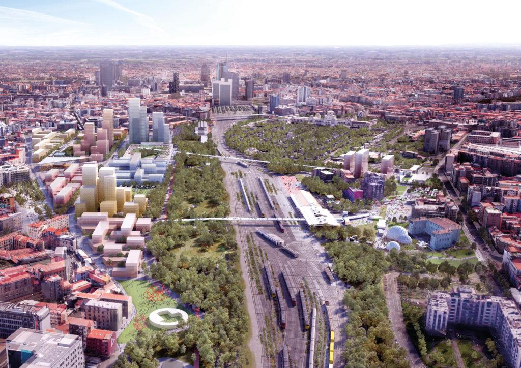 scali dismessi Milano, scalo Farini, progetto Agenti climatici