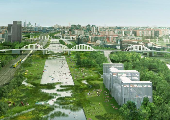scali dismessi Milano, progetto Agenti climatici