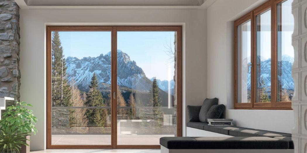 serramenti | finestra | salotto | comfort e design | infissi |produzioni