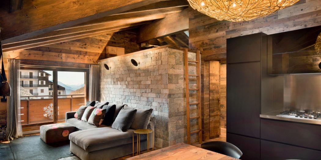 chalet classe e comfort | rifugio di convivialità e calore | legno | sostenibilità
