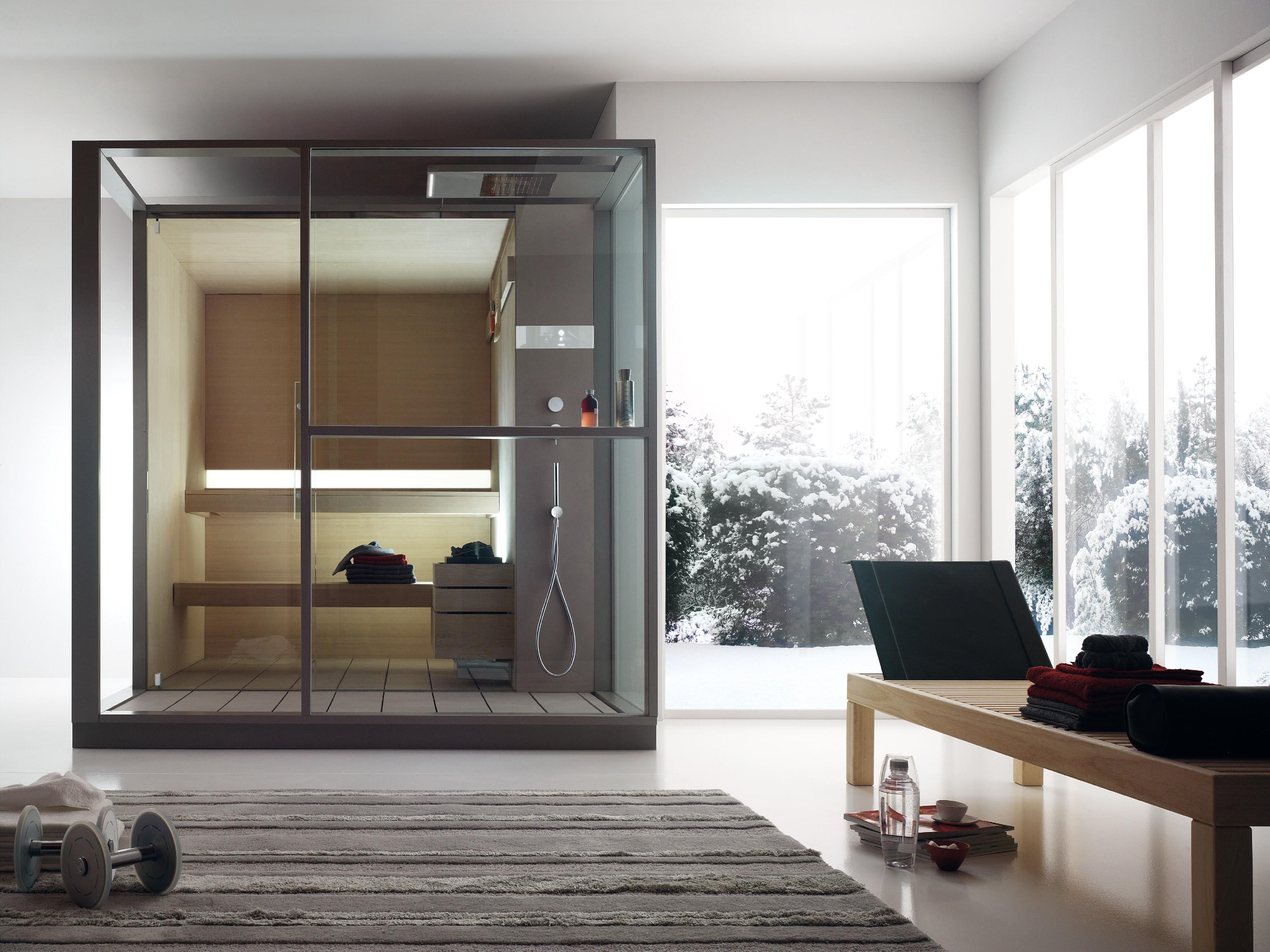 Sauna In Casa Consumi rigenerarsi in casa tra sauna, hammam e idromassaggio - casa