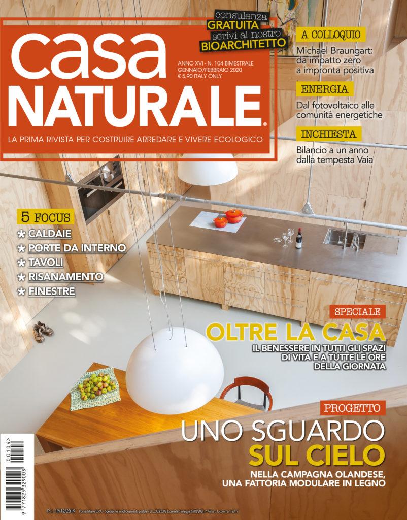 Rivista Porte E Finestre casa naturale - e' in edicola il numero di gennaio-febbraio
