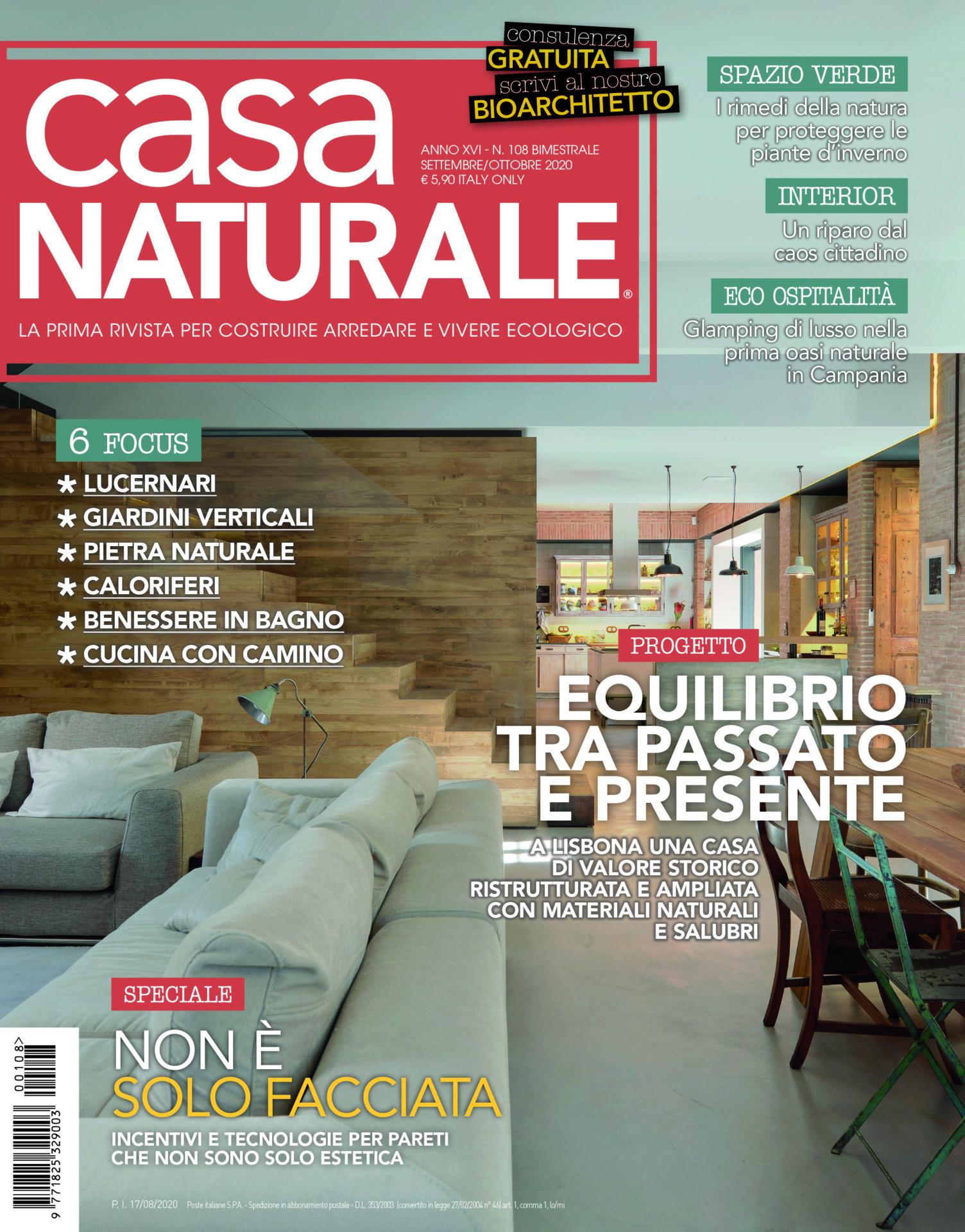 Casa Naturale E In Edicola Il Numero Di Settembre Ottobre 2020 Casa Naturale